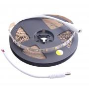 Nextec LED-strip kit 5 meter 24W varmvitt ljus med transformator