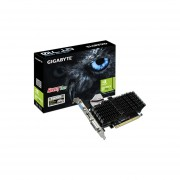 Tarjeta De Video NVIDIA GeForce GT 710 Gigabyte, 1GB GDDR3, 1xHDMI, 1xDVI, 1xVGA, PCI Express 2.0. GV-N710SL-1GL