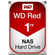 "Western Digital WD Red NAS Hard Drive WD10EFRX - Disco rígido - 1 TB - interna - 3.5"" - SATA 6Gb/s - buffer: 64 MB - para My Cloud EX2, EX4"