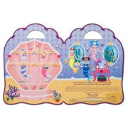 Mermaid: Puffy Sticker Play Set + Free Melissa & Doug Scratch Art Mini-Pad Bundle [94139]