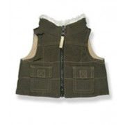 """Brown Vest 8 inch - 9023 Fits 8"""" - 10"""" bears, includes Build a Bear, The Bear Mill, and Stuff your o"""