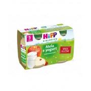 HIPP ITALIA SRL Hipp Biologico Merenda Mela E Yogurt 2x125g