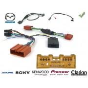 COMMANDE VOLANT Mazda RX8 - Pour KENWOOD complet avec interface specifique