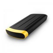 Hard Disk Esterno Armor A65 3.0 3.1 Gen 1 2000Gb Nero Giallo Silicon Power