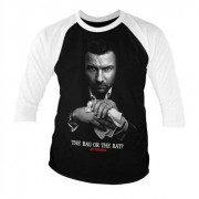 Ray Donovan - The Bag Or The Bat Baseball 3/4 Sleeve Tee, Baseball 3/4 Sleeve Tee