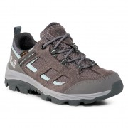 Туристически JACK WOLFSKIN - Vojo 3 Texapore Low W 4042451 Tarmac Grey/Light Blue