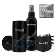 KeratinMD HAIR BUILDING FIBERS (Gray) VALUE PACK