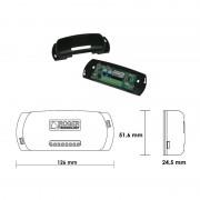 Receptor radio universal Roger R93/RX12A/U cu 2 canale, maxim 500 telecomenzi (Roger)