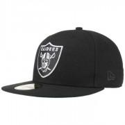 New Era 59Fifty NFL Classic Raiders Cap Baseballcap Basecap Fitted NFL-Cap Flat Brim Oakland Kappe