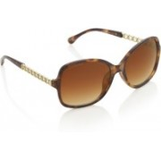Joe Black Over-sized Sunglasses(Brown)