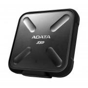 Unidad Estado Solido SSD Externo Adata SD700 256GB USB 3.1 Negro (ASD700-256GU3-CBK)-Negro