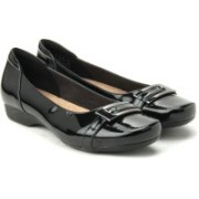 Clarks Blanche West Bellies For Women(Black)