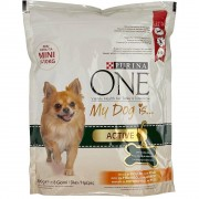 Purina Crocchette Per Cani - Purina One My Dog Is Active - Pollo E Riso 800 Gr - Purina