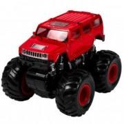 Masinuta rosie Jeep 4 x 4 roti mari teren