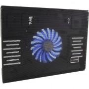 Stand cooler laptop 15.6 inch, USB, silentios, iluminat LED, Esperanza Solano