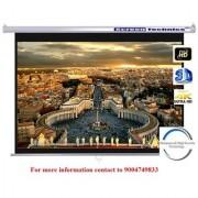 Screen Technics 128 Inch Diagonal Instalock Projector Screen Premium fabric HD 3D 4k with Dampness High Severity Technology