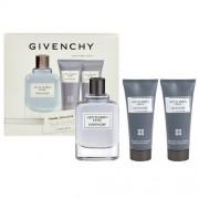 Givenchy Gentlemen Only /мъжки комплект/ - EdT 100 ml + автършейв балсам 75 ml + душ гел 75 ml