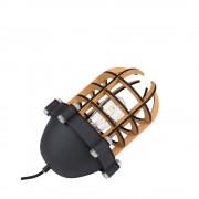 Zuiver Navigator - Lampe à poser métal et bois - Couleur - Noir