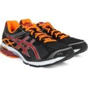 Asics Gel-Pulse 7 Men Running Shoes For Men(Black, Maroon, Orange)