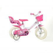 Bicicleta Hello Kitty 12 inch Dino Bikes
