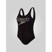 Speedo Logo Deep U-Back - Sort 32 UK / 36 EU / S
