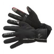 Craft Siberian Bike Gloves Black/Bright Red 1901623