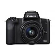 Canon EOS M50 + EF-M 15-45mm - Zwart