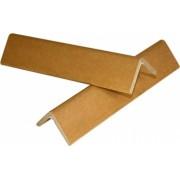Coltare din Carton 1 m 100x100x6 mm 50 Buc/Bax Coltar din Carton Coltare de Protectie pentru Ambalat Paleti si Colete
