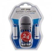 Whitenergy incarcator baterii 4xAA/AAA + 4xAA/R6 2800mAh - blister