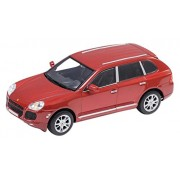 WELLY 1/24 Porsche Cayenne Turbo Red