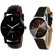R P S fashion 2018 new model to combo pack of 2 men watch
