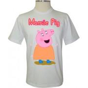 Camiseta Peppa Pig Mamãe Pig - Coleção Peppa Pig