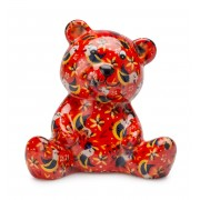 LAMART keramička štedna kasica u obliku medvjedića