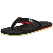 Volcom Men s Recliner Sandal Flip Flop Jah 15 B(N) US
