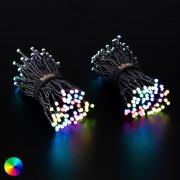 Twinkly Světelný řetěz Twinkly RGB, černý, 250 žárovek 20m