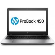 HP ProBook 450 G4 i3-7100U / 15.6 HD AG SVA HD / 4GB 1D DDR4 / 1TB 5400 / W10p64 / DVD+-RW / 1yw / Clickpad / Intel AC 2x2 nvP +BT 4.2 / SeaShipment / FPR (QWERTY)