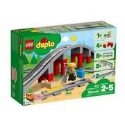 Lego 10872 - Duplo Eisenbahnbrücke und Schienen