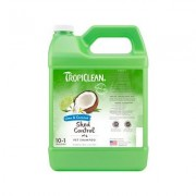 TropiClean Lime & Coconut Deshedding Dog Shampoo, 1-gal bottle