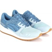Asics TIGER GEL-LYTE III Walking Shoes For Men(Blue, Grey)