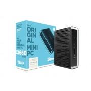 PC Zotac Barebone, ZBOX-CI660NANO-BE, SFF, Intel Core i7 8550U 4C/8T, 0GB, Intel UHD 620, crna, 24mj