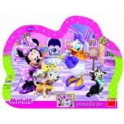 Puzzle cu rama - Minnie si Daisy 25 piese