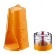 Bodum BISTROSET Hachoir et support pour pied mixeur Orange
