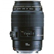 Canon EF 100 mm f/2.8 Macro USM Lens (Black)