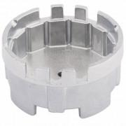 Cazoleta para filtros de aceite. 64.5 mm. 14 caras y 6 ranuras