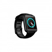 Bleck Smartwatch BE watch, Touch, Bluetooth 4.0, Android/iOS, Negro