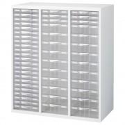 プラスチックキャビネットC ホワイト W900×D450×H1050mm システム収納庫 オフィス収納 オフィス家具