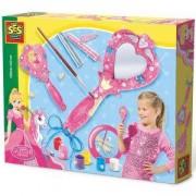Детски комплект Направи си сам - Огледало с брокат SES, 080952