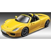 1/24 Academy Porsche 918 Spyder Die Cast Model Car Plastic Model Kit (Painted body)