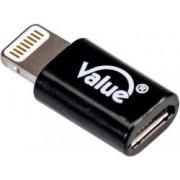 Roline VALUE adapter 8-pin - Micro B, M/F