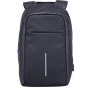 Kaka Anti-theft Bag with USB Charging Large Capacity Casual Style Bag for 15 Laptop Backpack(Black)